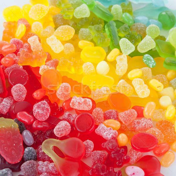 Colorful soft candy Stock photo © BarbaraNeveu