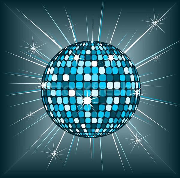 Disko topu örnek güzel disko mutlu dans Stok fotoğraf © BarbaRie