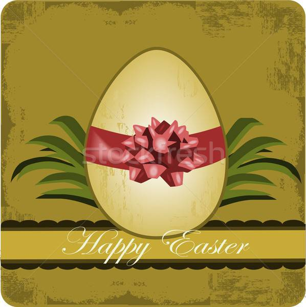 Сток-фото: Христос · воскрес · иллюстрация · пасхальное · яйцо · старые · стиль · весны