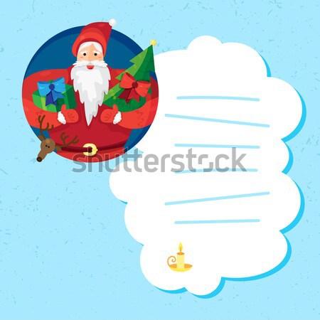 Christmas Santa Claus Stock photo © barsrsind