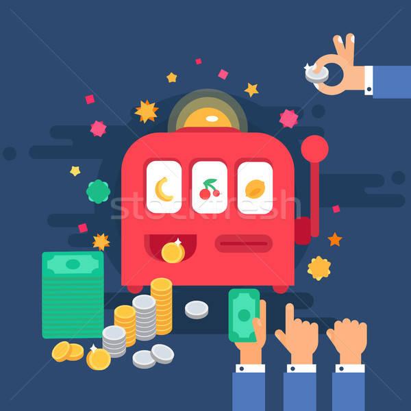 ギャンブル カジノ マシン デザイン お金 1 ストックフォト © barsrsind