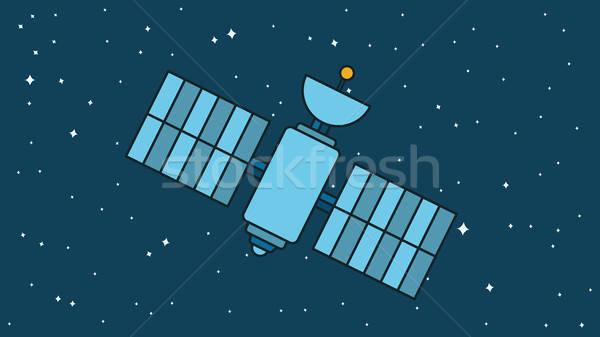 Modern Cosmos Satellite Stock photo © barsrsind