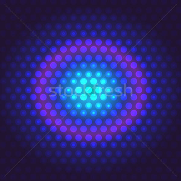 Техно цифровой виртуальный синий фиолетовый розовый Сток-фото © barsrsind