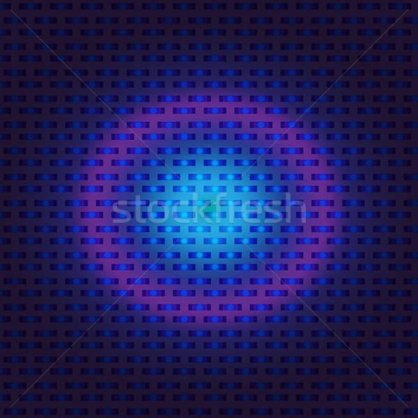 Techno digitalen blau violett rosa Stock foto © barsrsind