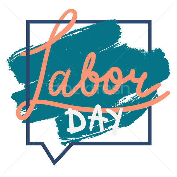 Labor Day. 1 May Stock photo © barsrsind