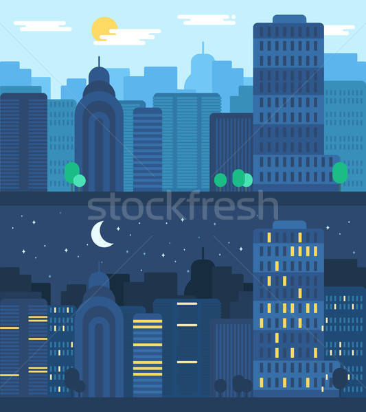 City Life Concept Stock photo © barsrsind