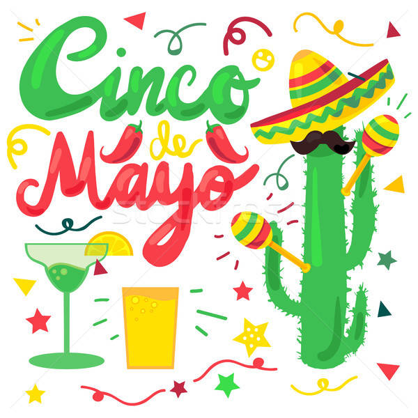 Cinco De Mayo Stock photo © barsrsind