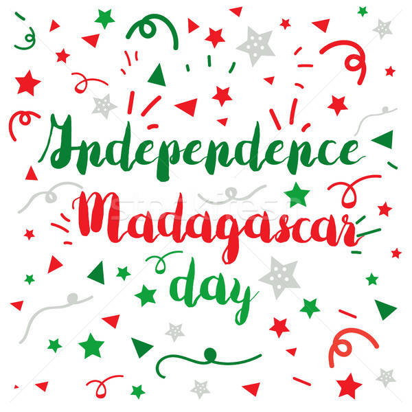 madagascar independence day Stock photo © barsrsind