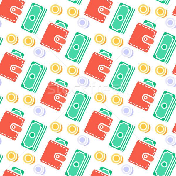 Successful Seamless Pattern Stock photo © barsrsind