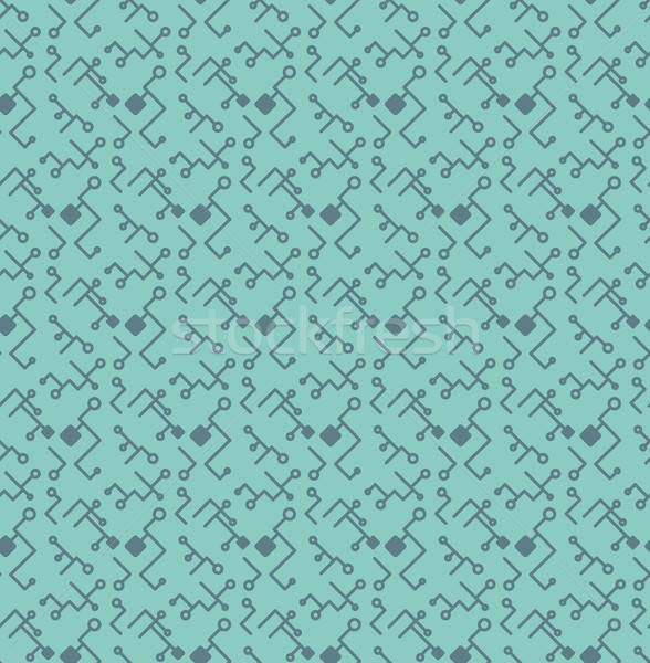 Számítógép processzor chip végtelen minta nyomtatott ruha Stock fotó © barsrsind