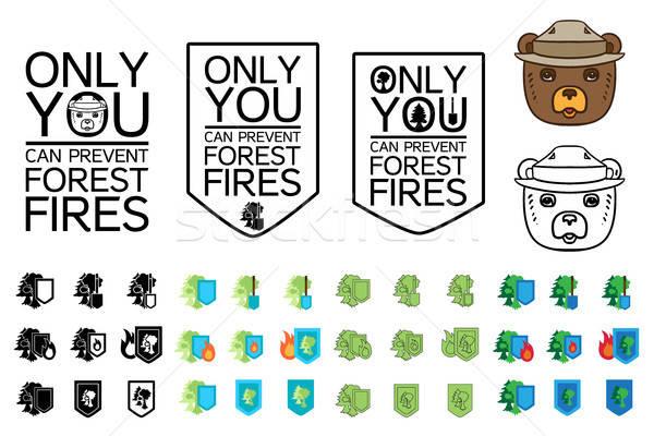 Environment Protection Icon Stock photo © barsrsind