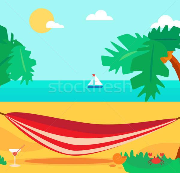 Hello Summer Concept Stock photo © barsrsind