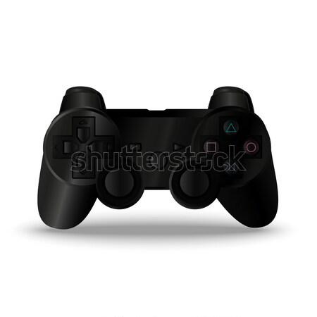 Game controller. Joystick Stock photo © barsrsind