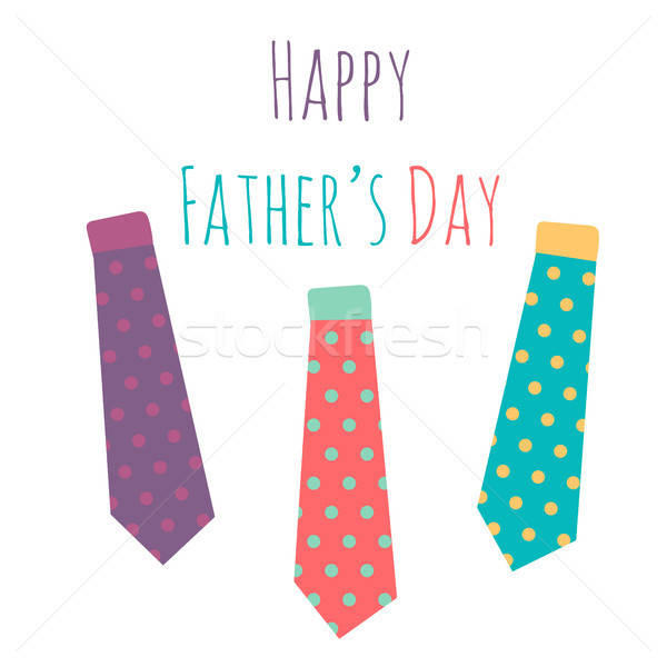 Stock photo: Happy Fathers Day