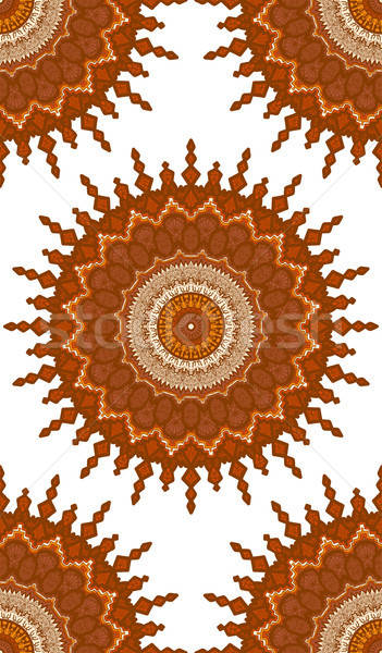 Mandala goud arabisch indian Stockfoto © barsrsind