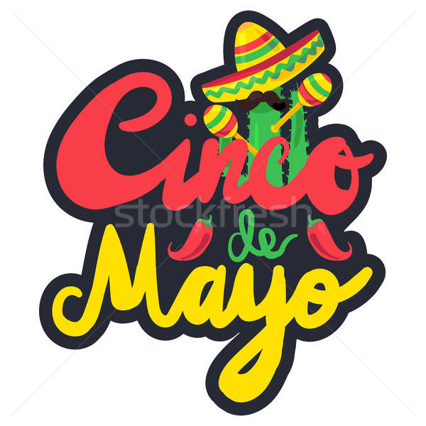 Cinco De Mayo Stock photo © barsrsind
