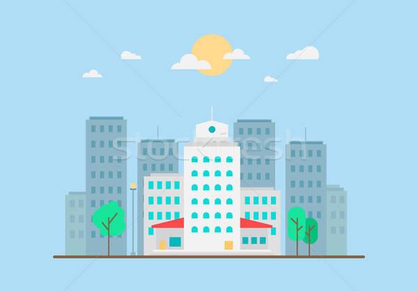 City Life Concept Stock photo © barsrsind