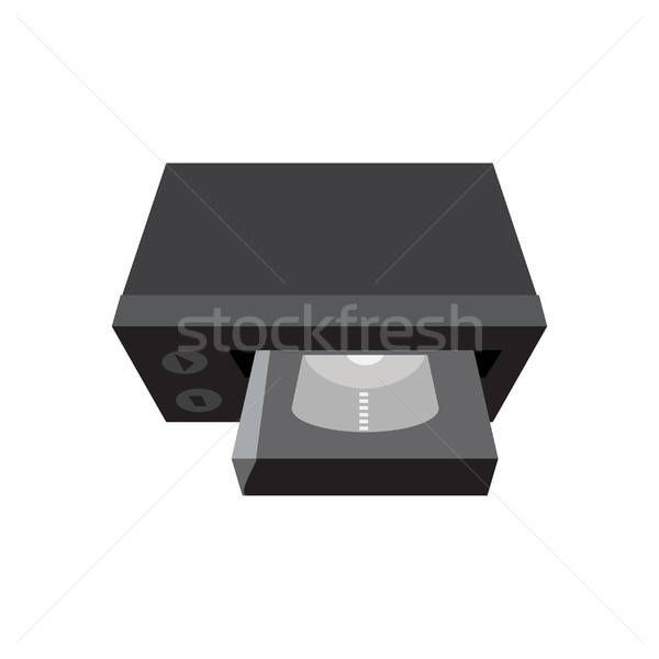 вектора видео кассету телевидение Сток-фото © barsrsind