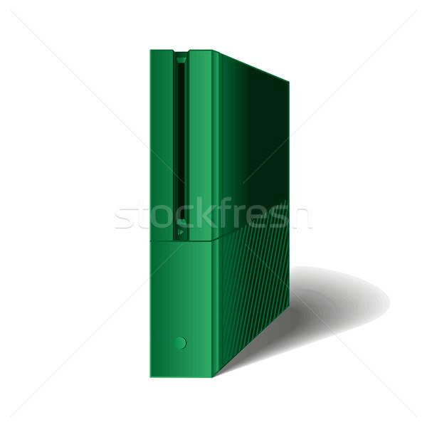 Játék konzol játékok számítógép tok erő Stock fotó © barsrsind