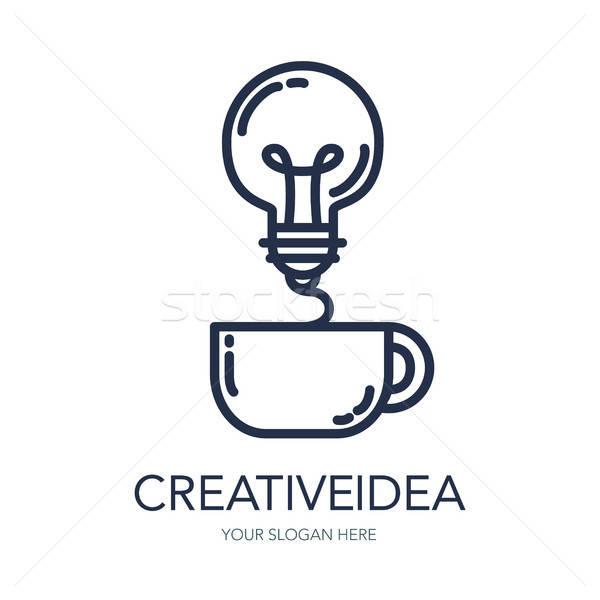 Creative Success Idea Logo Stock photo © barsrsind