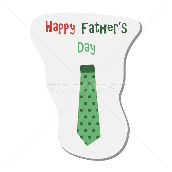 Stok fotoğraf: Mutlu · babalar · günü · etiket · aile · sevmek · çocuk · dizayn