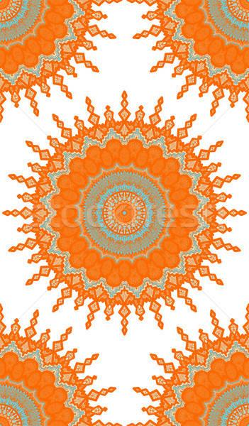 Mandala Seamless Pattern Stock photo © barsrsind