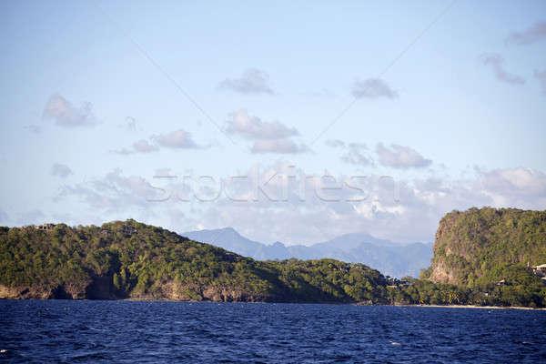tropical beach in Carribean Stock photo © bartekwardziak