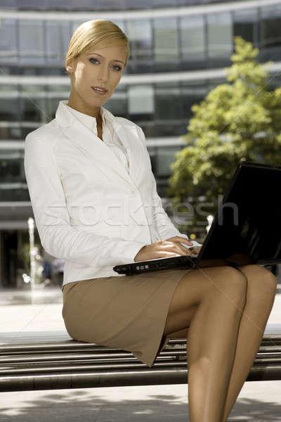 young businesswoman Stock photo © bartekwardziak