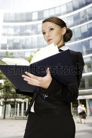 young businesswoman Stock photo © bartekwardziak