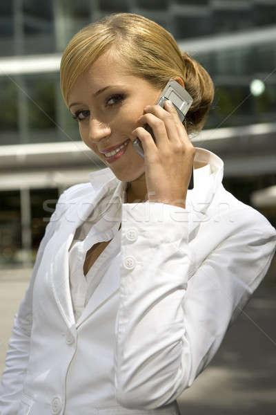 attractive and confident businesswoman  Stock photo © bartekwardziak