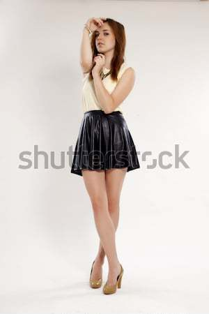 beautiful adult sensuality woman  Stock photo © bartekwardziak
