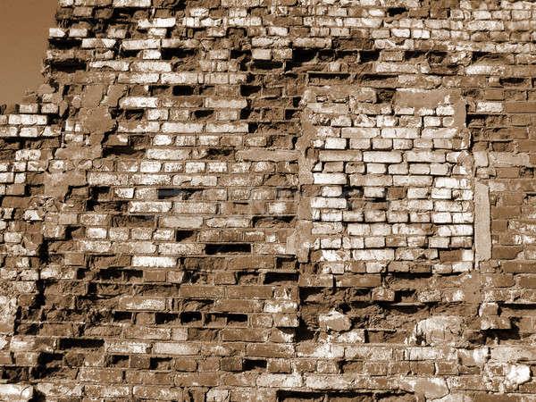 brick wall Stock photo © basel101658