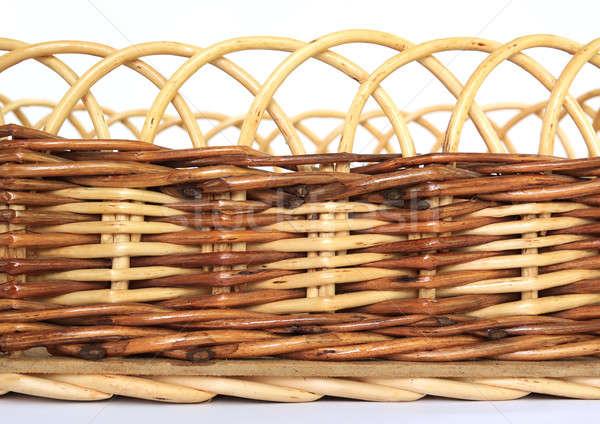 braided basket Stock photo © basel101658