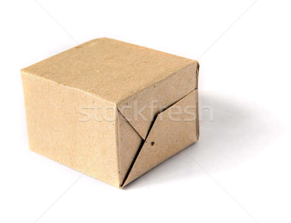cardboard packing Stock photo © basel101658