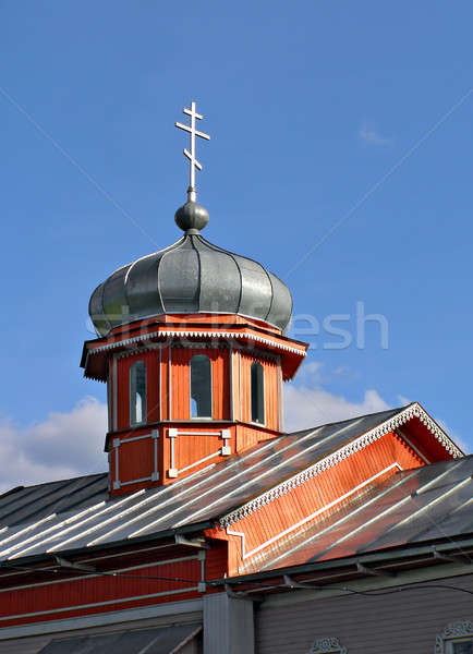 aging rural wooden church      Stock photo © basel101658