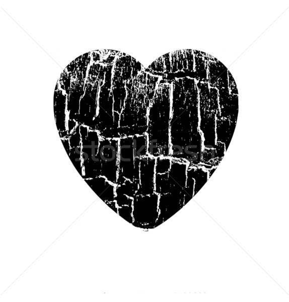 Stok fotoğraf: Vektör · çizim · kalp · sevmek · dizayn · güzellik