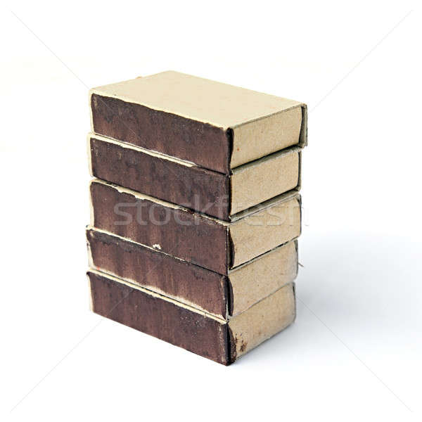 matches of the box Stock photo © basel101658