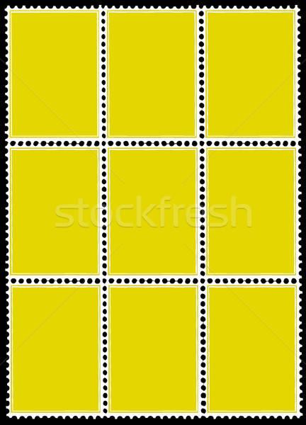 Stock fotó: Vektor · rajz · háttér · művészet · felirat · posta