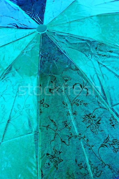 Guarda-chuva papel pintar laranja grupo vermelho Foto stock © basel101658