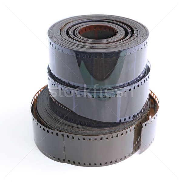 Kamera film fehér terv képernyő videó Stock fotó © basel101658