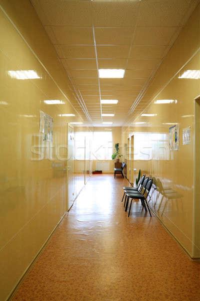 Ospedale corridoio ufficio costruzione spazio medicina Foto d'archivio © basel101658