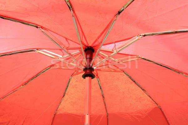 傘 空 紙 塗料 赤 カクテル ストックフォト © basel101658