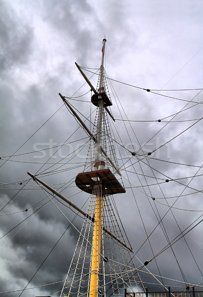 mast of the sailfish Stock photo © basel101658