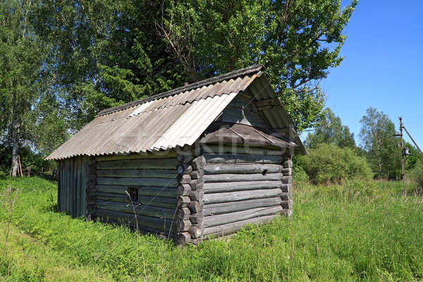 old rural house Stock photo © basel101658