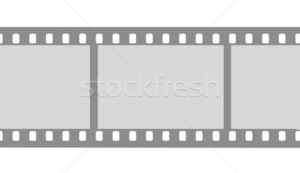 Vector tekening camera film ontwerp scherm Stockfoto © basel101658