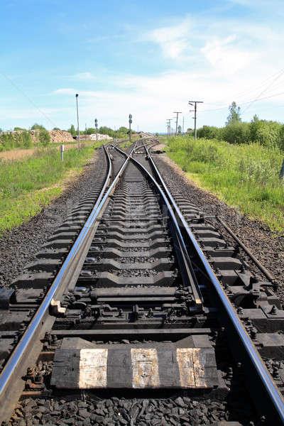 railway Stock photo © basel101658