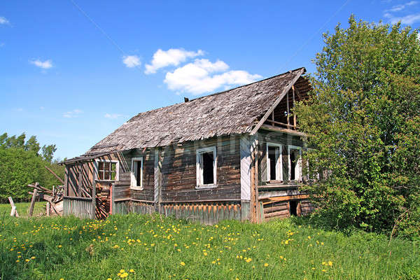 old wooden house Stock photo © basel101658