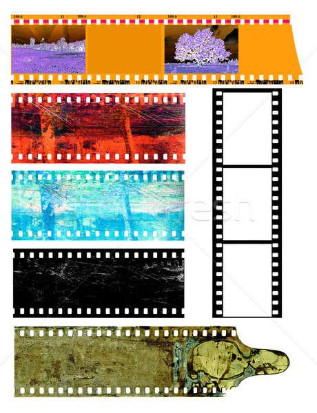 カメラ 映画 自然 オレンジ 画面 黒 ストックフォト © basel101658
