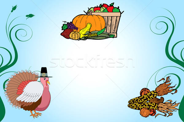 Thanksgiving Background 2 Stock photo © BasheeraDesigns