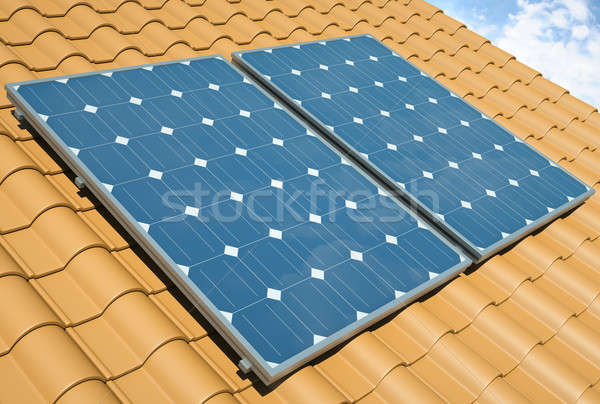 Solar Panels   Stock photo © bayberry